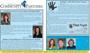 April Newsletter, Page 1