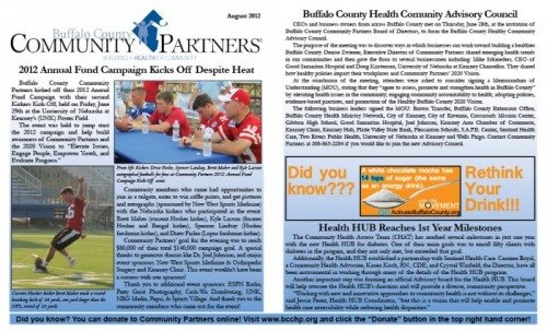 August Newsletter Available Now!