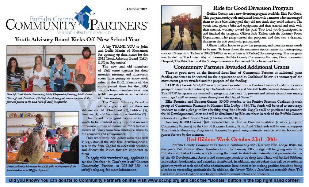 October Newsletter Available Online!