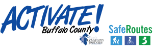 Activate Buffalo County logo wSRTS transparent