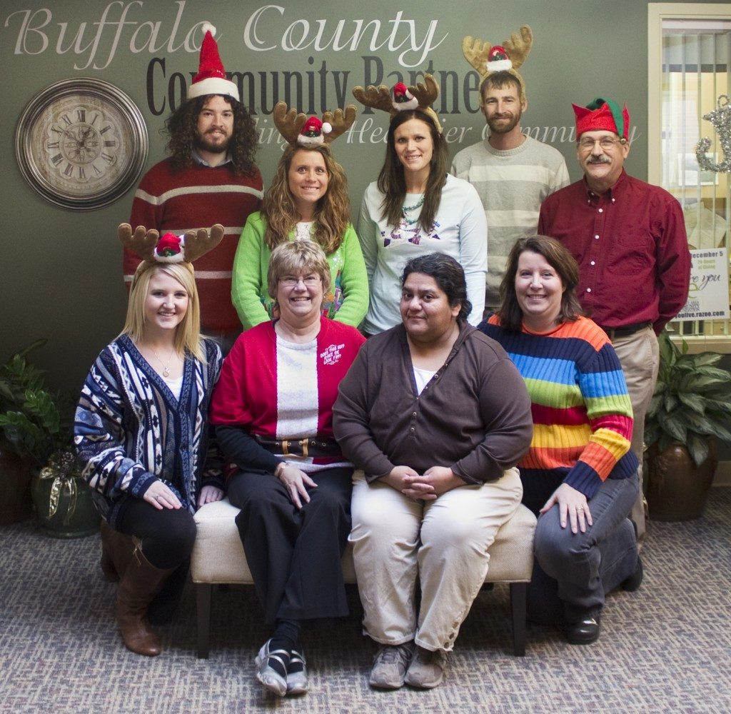 12-2013 Staff Holiday Picture