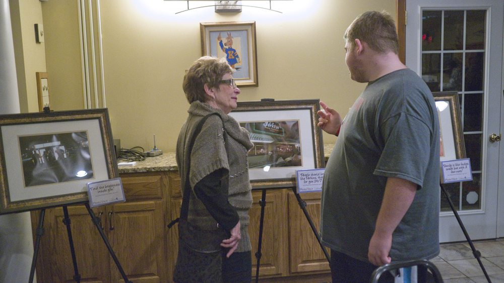 PhotoVoice Reception Gives Youth Chance to Share Photos, Views
