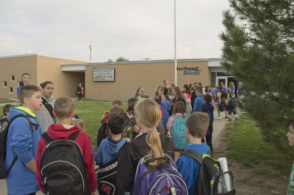 At the two events hosted by Activate Buffalo County, over 450 students walked or biked to school!