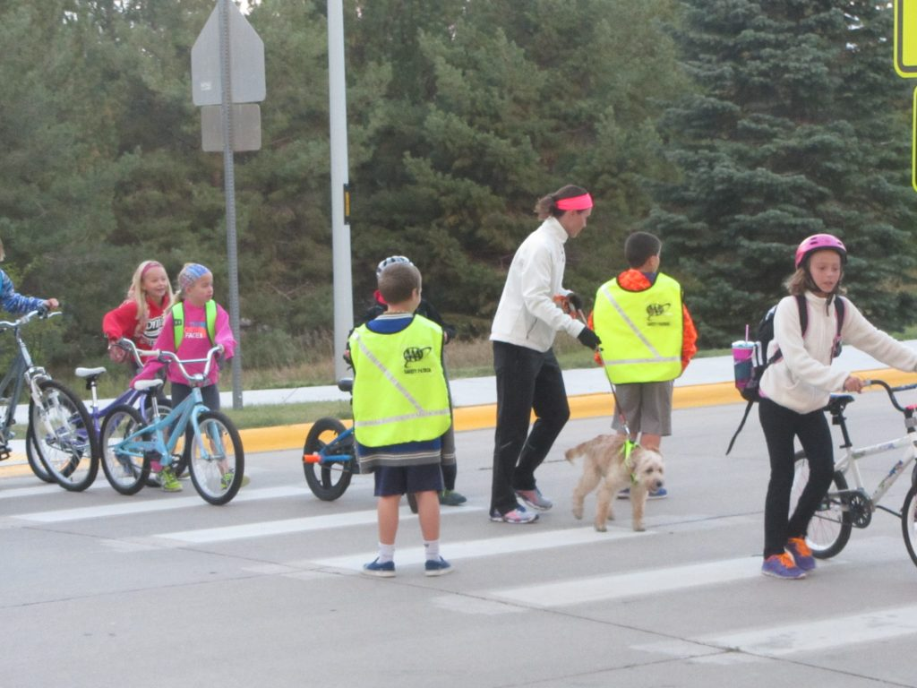 Huge Turnout of Walkers, Cyclists for Walk to School Day