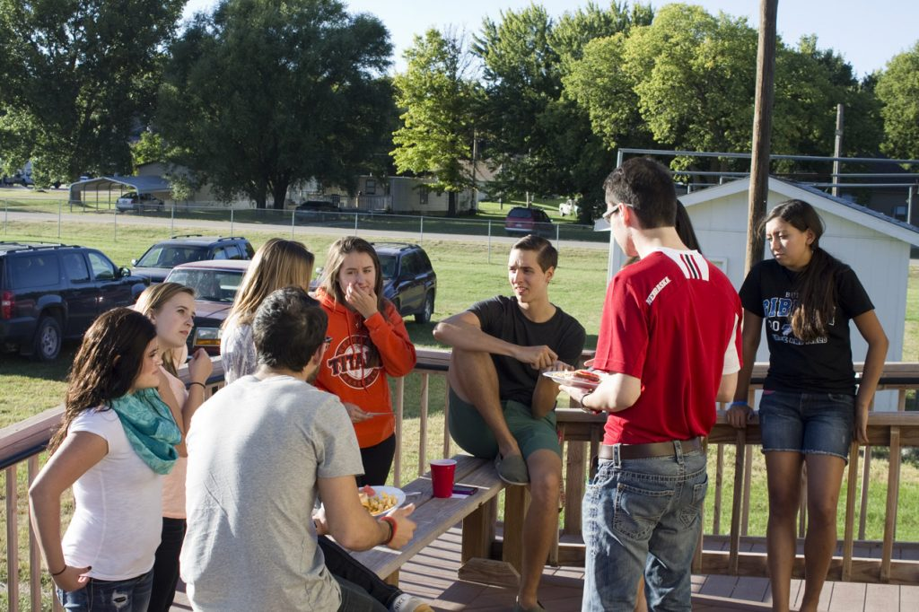 Youth Advisory Board Members, Parents Mingle at Annual Picnic
