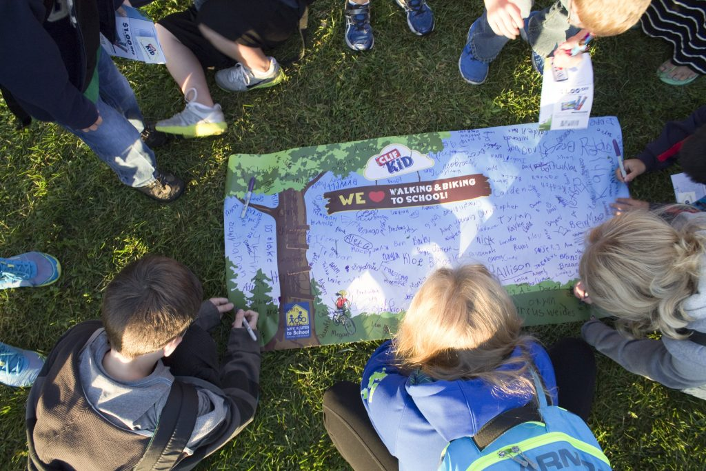 Activate Buffalo County Hosting Walk to School Day Events