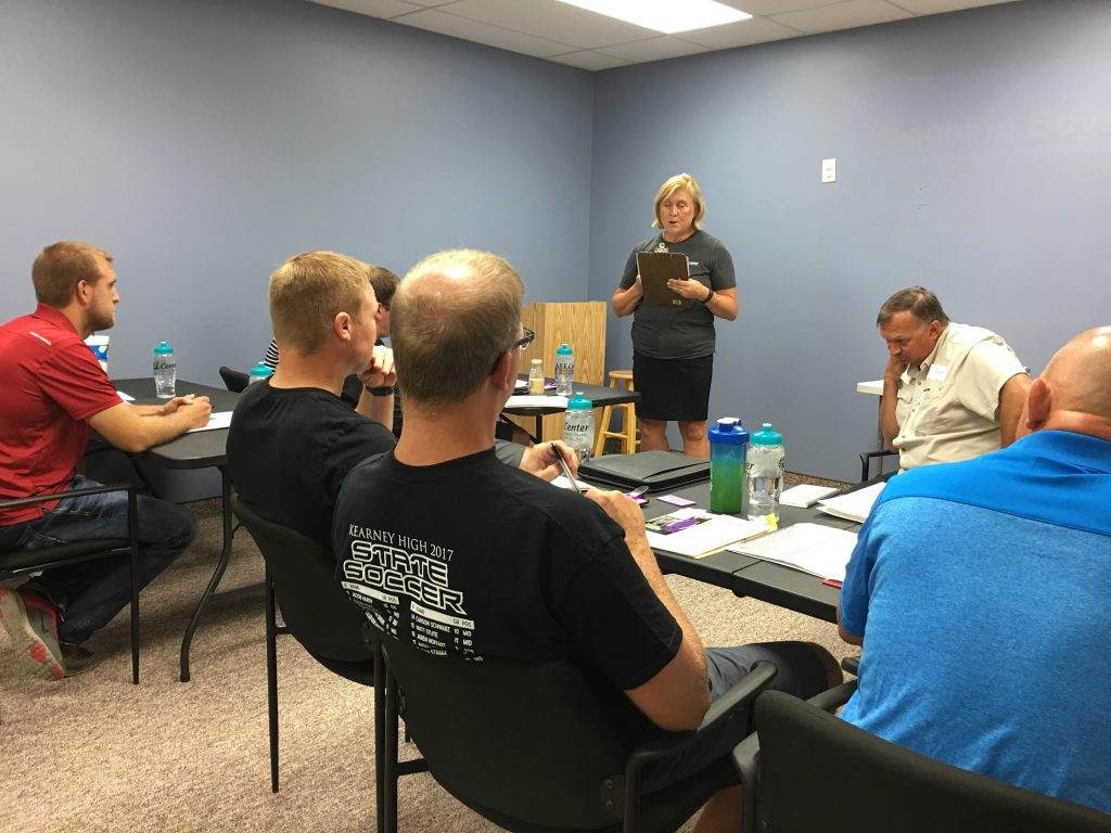 Violence Prevention Hosts Coaches Training